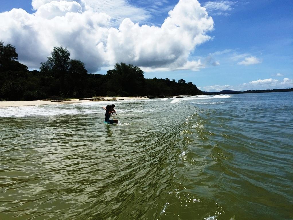 Faire une randonnée lors d'un voyage Cambodge